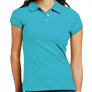 girls polo t-shirt with cuff